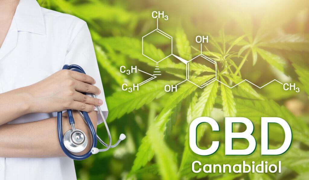 doctor image cannabis of the formula cbd.