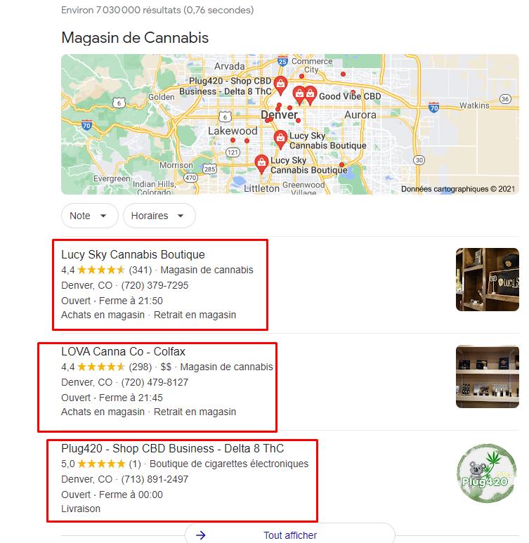 trouver cbd boutique internet